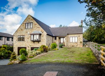 Thumbnail 4 bed detached bungalow for sale in Knowl Road, Mirfield