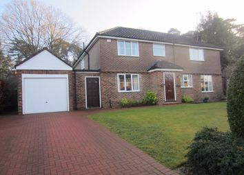 Thumbnail 4 bed detached house to rent in Woodend Drive, Ascot
