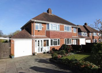 Thumbnail 3 bed semi-detached house for sale in Melrose Avenue, Clayton, Newcastle-Under-Lyme