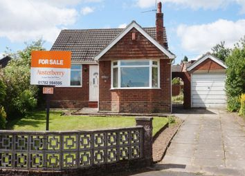 Thumbnail 2 bed detached bungalow for sale in Heath Grove, Meir Heath, Stoke-On-Trent, Staffordshire