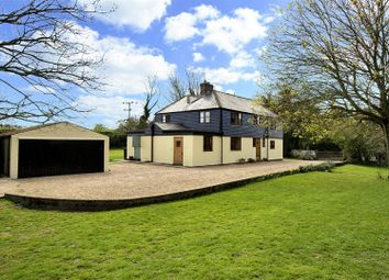 Thumbnail 4 bedroom equestrian property for sale in The Lane, Guston, Dover