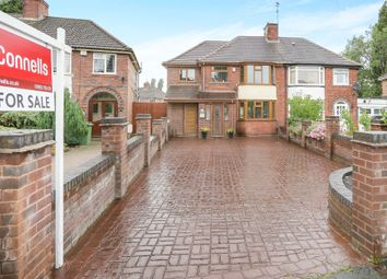 Thumbnail 4 bedroom semi-detached house for sale in Sambrook Road, Wednesfield, Wolverhampton