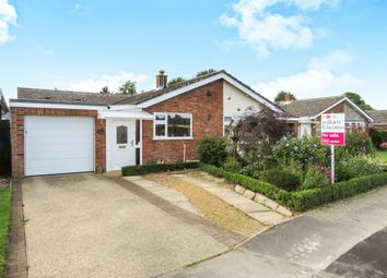 Thumbnail 3 bed detached bungalow for sale in Beech Avenue, Attleborough