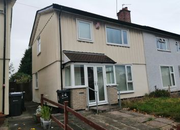 Thumbnail 3 bed semi-detached house to rent in Weaver Avenue, Sheldon
