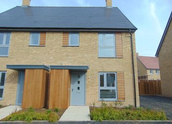Thumbnail 3 bed semi-detached house to rent in Peter Churchill Lane, Ashford