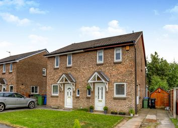 Thumbnail 2 bed semi-detached house for sale in Churchston Avenue, Bramhall, Stockport