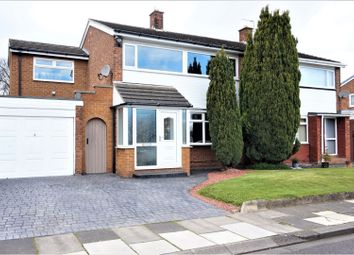 Thumbnail 4 bed semi-detached house for sale in Fountains Drive, Middlesbrough