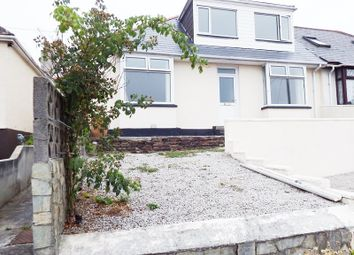 Thumbnail 4 bed semi-detached bungalow for sale in Upper Hillcrest, Perranporth