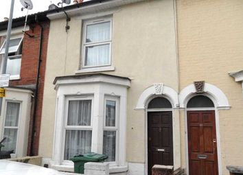 Thumbnail 2 bed terraced house to rent in Margate Road, Southsea