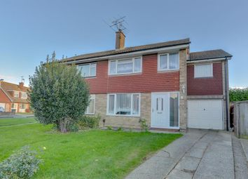 Thumbnail 4 bedroom semi-detached house for sale in Castle Road, Worthing