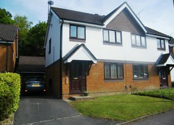 Thumbnail 3 bed semi-detached house for sale in Martingale Close, Upton, Poole