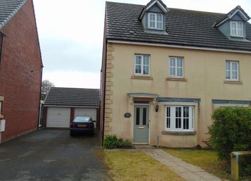 Thumbnail 4 bed town house for sale in Ger Yr Ysgol, Burry Port