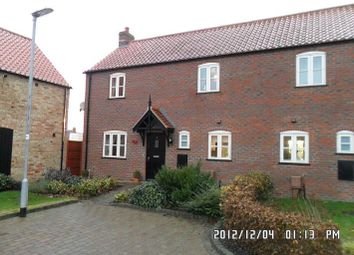 Thumbnail 3 bedroom semi-detached house to rent in Thomas Kitching Way, Bardney