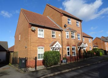 Thumbnail 3 bed town house for sale in Staples Drive, Coalville, Leicestershire