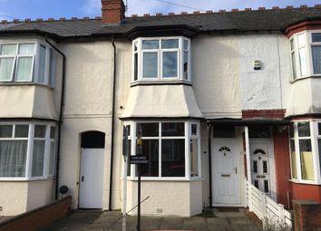 Thumbnail 3 bedroom terraced house for sale in Grosvenor Road, Harborne, Birmingham