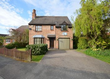 Thumbnail 4 bed detached house for sale in Needham Close, Oadby, Leicester