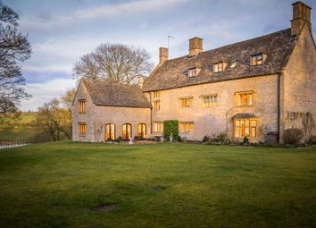 Thumbnail 9 bed property for sale in The Manor House, Upper Swell, Cheltenham
