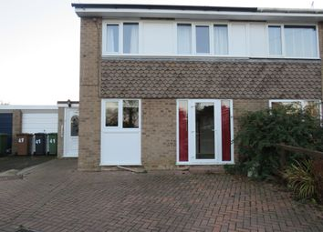 Thumbnail 3 bed semi-detached house for sale in Millside, Stalham, Norwich