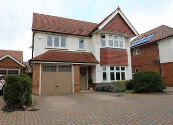 Thumbnail 4 bed detached house for sale in Martinet Road, Woodley, Reading