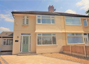 Thumbnail 3 bed semi-detached house for sale in Elmtree Close, Liverpool