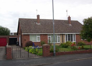 Thumbnail 2 bedroom semi-detached bungalow to rent in St Marys Crescent, Tickhill, Doncaster