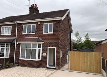 Thumbnail 3 bed semi-detached house to rent in Macclesfield Road, Lower Heath, Congleton