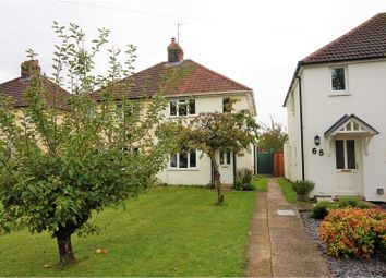 Thumbnail 3 bedroom semi-detached house for sale in Brewery Road, Pampisford, Cambridge