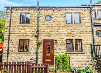 Thumbnail 3 bedroom end terrace house for sale in Weavers Court, Meltham, Holmfirth