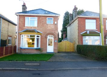 Thumbnail 3 bed detached house for sale in St Peters Road, Upwell, Wisbech
