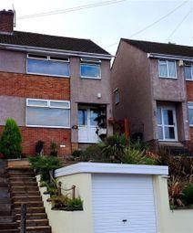 Thumbnail 3 bed semi-detached house for sale in Crantock Avenue, Headley Park, Bristol