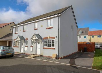 Thumbnail 3 bed semi-detached house for sale in Gleneagles Close, Milford Haven