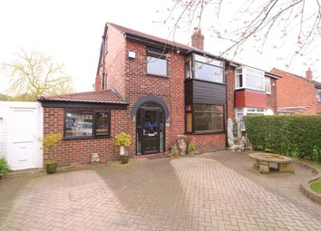 Thumbnail 5 bed semi-detached house for sale in Stockport Road, Denton, Manchester