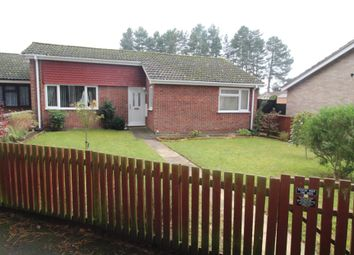 Thumbnail 3 bed terraced bungalow for sale in Rowan Walk, Mildenhall, Bury St. Edmunds