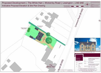 Thumbnail Land for sale in Land Adjacent To, Lissington