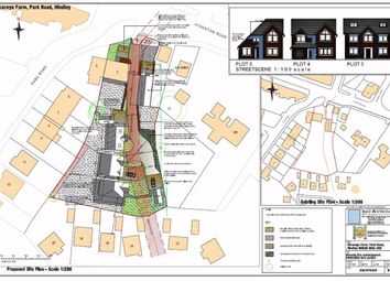 Thumbnail Land for sale in Park Road, Hindley, Wigan