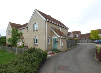 Thumbnail 2 bedroom end terrace house for sale in Stirling Way, Sutton, Ely