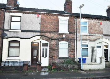 Thumbnail 2 bed terraced house for sale in Nursey Street, Stoke, Stoke-On-Trent, Staffordshire