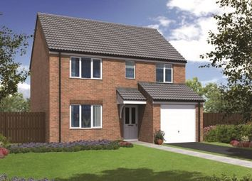 "Thumbnail 4 bedroom detached house for sale in ""The Crathorne"" at Station Road, North Hykeham, Lincoln"