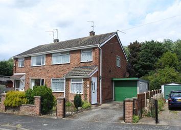 Thumbnail 3 bed semi-detached house for sale in Wroxall Drive, Grantham