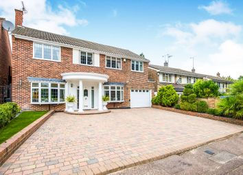 Thumbnail 5 bed detached house for sale in Howfield Green, Hoddesdon