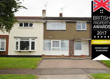Thumbnail 3 bedroom terraced house for sale in Treecot Drive, Perfect Purchase, Leigh-On-Sea, Essex