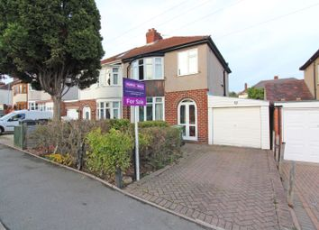 Thumbnail 3 bed semi-detached house for sale in Burland Avenue, Wolverhampton