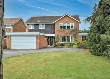 Thumbnail 4 bed detached house for sale in Tilehouse Green Lane, Knowle, Solihull, West Midlands