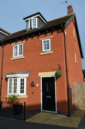 Thumbnail 3 bed end terrace house for sale in Greetham Way, Syston, Leicester