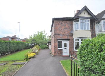 Thumbnail 3 bed semi-detached house for sale in Basford Park Road, Basford, Newcastle, Staffs