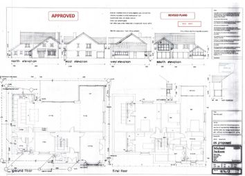 Thumbnail 4 bedroom detached house for sale in New Lane, Eagland Hill, Preston