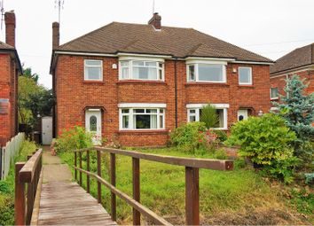 Thumbnail 3 bed semi-detached house for sale in Leverington Road, Wisbech