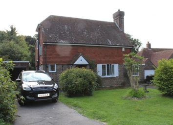 Thumbnail 4 bed detached house to rent in Peakdean Lane, Friston, Eastbourne