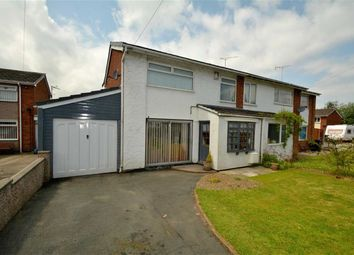 Thumbnail 3 bed semi-detached house for sale in Monza Close, Buckley