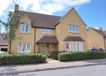 Thumbnail 4 bed detached house for sale in Barrington Court, Chippenham